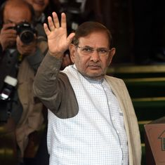 JD(U) urges Election Commission to hold bye-poll for rebel leader Sharad Yadav's Rajya Sabha seat
