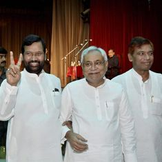 Are BJP allies Nitish Kumar and Ram Vilas Paswan looking to form a new Front in Bihar?