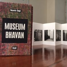 Dayanita Singh's museum of photographs can travel with you, sit on your desk, even fit in a pocket