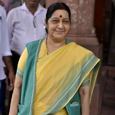 India will take up reports of alleged conversion of Sikhs with Pakistan, says Sushma Swaraj