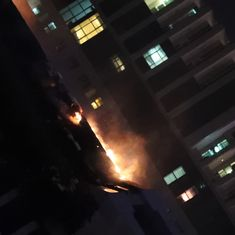 Dubai: Massive fire put out in 86-storey residential tower, none injured