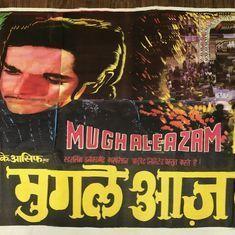 National film archive acquires 2,500 posters,  including rare 'Mughal-e-Azam' artwork