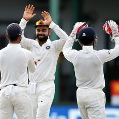 India's lower-order knocks stuffing out of Sri Lanka on Day 2 of second Test