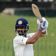 Plan was to bat, bat and bat: Ajinkya Rahane after scoring century on county debut