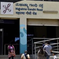 Bengaluru starts taking down Hindi signs at metro stations