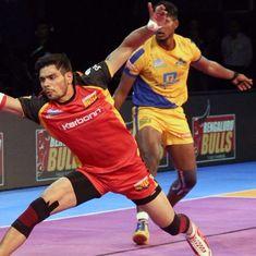 Bengaluru Bulls beat Tamil Thalaivas 32-31 in Pro Kabaddi League