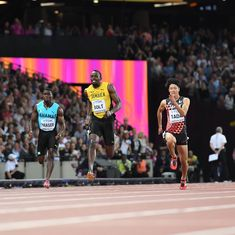 'That was very bad': Usain Bolt overcomes slow start to win 100m heats in 10.07 seconds