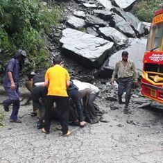 Hundreds stranded as landslides block highways in Himachal Pradesh