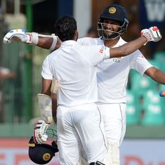 Finally some fight: Mendis, Karunaratne lead Sri Lanka's resistance on Day 3 after following on