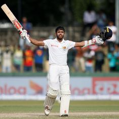 Much required: Mendis, Karunaratne finally show there's another team competing in this series