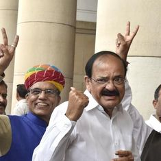 Will uphold the Constitution, says Venkaiah Naidu after winning the vice-presidential election