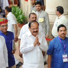 The big news: Venkaiah Naidu is India's new vice president, and nine other top stories