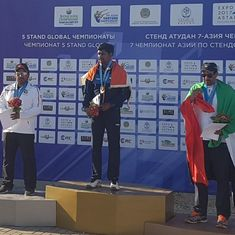 Ankur Mittal wins double trap gold at the Asian Shotgun Championship