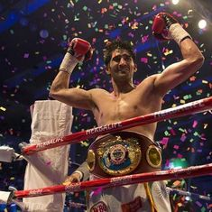 World title by the end of 2018? Undefeated Vijender Singh says that's the plan