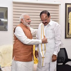 'Confident Venkaiah Naidu will uphold Constitution': Best wishes pour in for vice president-elect