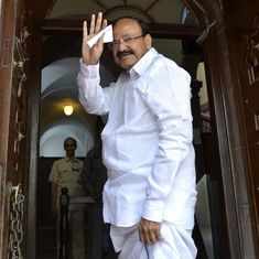 'Enforce Telugu,' Venkaiah Naidu tells chief ministers of Telangana and Andhra Pradesh