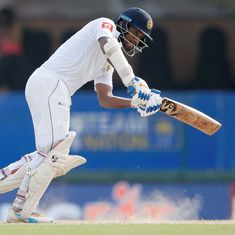 First Test: Dimuth Karunaratne's unbeaten 158 lifts Sri Lanka on tough opening day against Proteas
