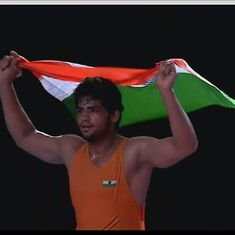 India's Sajan claims bronze at the Junior World Wrestling Championships