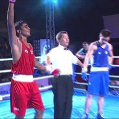 Two Indians boxers, Mohit Khatana and Satender Rawat, reach Asian Junior Championship final