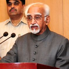 'People have the right to ask what we did in Balakot,' says former Vice President Hamid Ansari