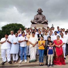 कांग्रेस के 44 विधायक कर्नाटक से गुजरात लौटे, लेकिन क्या कल सब साथ रहेंगे?