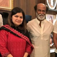 BJP's Poonam Mahajan meets Rajinikanth amid reports of the actor joining politics