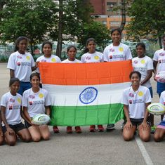 India girls finish 4th at the U-20 Asia Rugby Sevens Series
