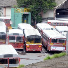 Bus services resume in Maharashtra after transport workers call off strike