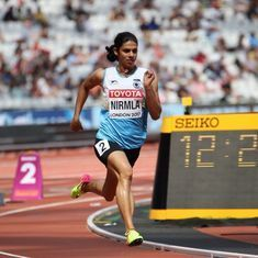World Athletics Championships: Nirmala Sheoran fails to qualify for 400m final, finishes in bottom 3