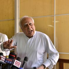 'The intolerant Hindu is Modi's mascot,' writes Kapil Sibal in a new book