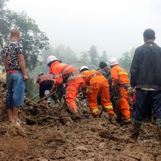 China: 23 killed in landslide in Sichuan province, two missing