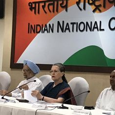 Anguished by the assault on freedom, says Sonia Gandhi after counting in Gujarat RS polls is delayed