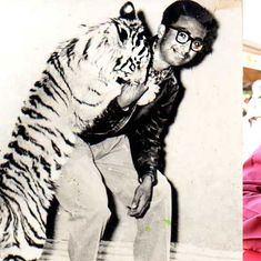 Toby Nainan: The zookeeper who handled fighting hyenas, cuddly tigers and an anxious Rajiv Gandhi