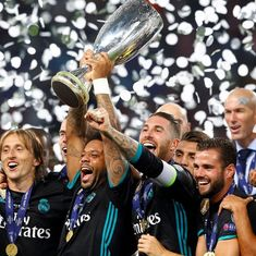Isco's strike propels Real Madrid to 2-1 win over Man United, win second straight UEFA Super Cup