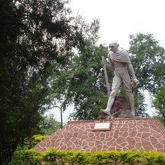 Assam decides to dismantle 'distorted' Gandhi statue in Guwahati