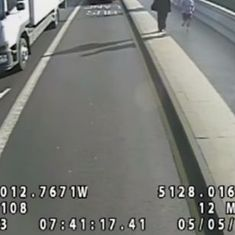 Watch: CCTV footage captures a London jogger pushing a woman in front of a bus
