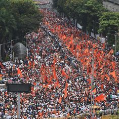 Mumbai: Maratha Kranti Morcha hits the streets, Opposition leaders set to join protestors