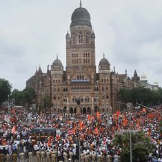 In photos: Massive Maratha march in Mumbai paints the town saffron