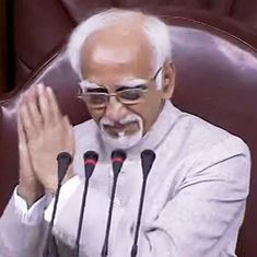 The big news: Outgoing Vice President Hamid Ansari praised in Rajya Sabha, and 9 other top stories