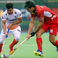 India suffer second consecutive defeat on Europe tour, lose to Belgium 1-3