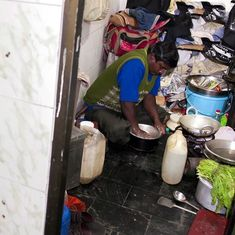 Video: This man lives, works, eats and sleeps in a public toilet in Delhi