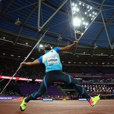 No coach, no problem: Javelin thrower Davinder Singh turned to fellow competitor for a tip