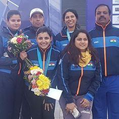 India's Maheshwari Chauhan bags bronze at Asian Shotgun Championships