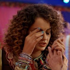 Kangana Ranaut rocks the wedding again in 'Simran' song 'Lagdi Hai Thaai'