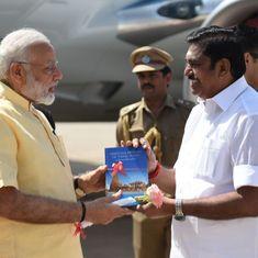 No talks on AIADMK merger, says Tamil Nadu CM Palaniswami after meeting Modi in Delhi