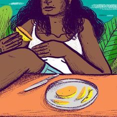 Five poems for a hungry August
