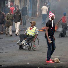 Kenyan Police allegedly kill 11 people during protests against Uhuru Kenyatta's election victory