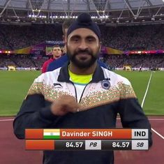 Davinder Singh Kang finishes 12th in javelin throw final at World Athletics Championships
