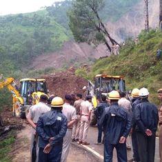 Himachal: 45 bodies recovered after massive landslide in Mandi district