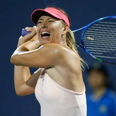 After Toronto, Maria Sharapova withdraws from Cincinnati with left forearm injury
